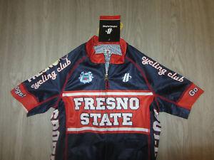 NWT Fresno State Bulldogs Hincapie Sportswear XS Cycling Bike Womens Jersey NEW