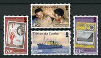 Tristan da Cunha 2018 MNH Tristan Venture 70th Anniv 4v Set Boats Ships Stamps