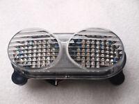 Feu LED + clignotants intégrés KAWASAKI ZX9R 1998 1999 2000 2001 2002 2003 CLAIR