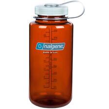 Nalgene Tritan Wide Mouth Water Bottle - 32 oz. - Rustic Orange/Gray