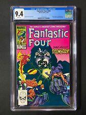 Fantastic Four #259 CGC 9.4 (1983) - Doctor Doom app & Silver Surfer cameo