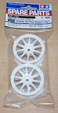Tamiya 50732 10-Spoke One-Piece Wheels (1 Pair) (TT01/TT02/TL01/TA01/TA02/TA03)