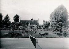 L'ETANG-LA-VILLE c. 1950 - Belle Villa Court de Tennis Yvelines - Div 2349