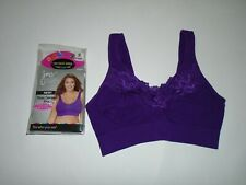 Hanes Just My Size  Pure Comfort Violet Bra Style#1271 Size 1X New With Tags
