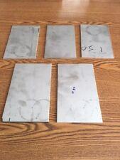 12 gauge Stainless steel sheet metal scrap (TIG/MIG) (304/316) (HHO) 5 pcs