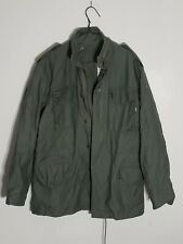 Alpha Industries Superior Togs FIELD COAT w/HOOD M-65 Green Small Army Jacket