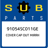 91054SC011GE Subaru Cover cap out mirrh 91054SC011GE, New Genuine OEM Part