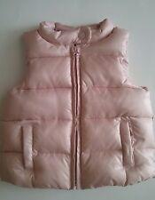 Baby Gap Infant girls Warmest Champagne Puffer Vest Polyester 18-24 month NWOT