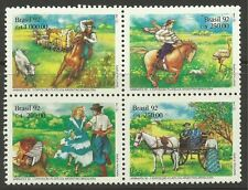 BRAZIL. 1992. Abrafex 92 Stamp Exhibition Set. SG: 2521a. Mint Never Hinged.
