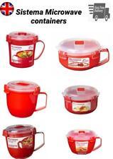 Sistema de microondas Caja de almuerzo Recipiente gachas Sopa Taza BPA Gratis Clip En La Tapa