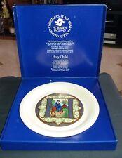 HORNSEA POTTERY LTD ED. HOLY CHILD CHRISTMAS 1980 PLATE BOXED