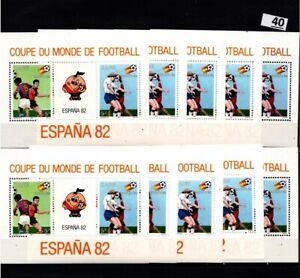 / 10X ZAIRE 1982 - MNH - SOCCER - SPAIN
