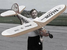 """1949   """"Falcon""""  96 inch  Old Timer FF  RC AIrplane Printed Plans & Templates"""
