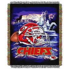 Kansas City Chiefs Home Field Advantage Woven Tapestry Throw