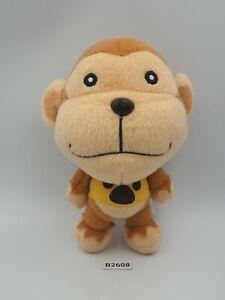 "Animal crossing B2608 Monkey Champ Banpresto 2007 Plush 6.5"" Toy Doll Japan"