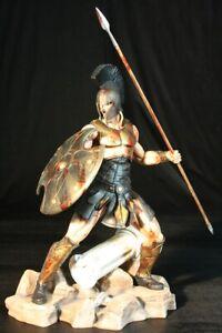 ARH Studios EX  ACHILLES BATTLE FURY 1/4 statue - Leonidas Rare + Sideshow Book
