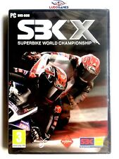SBK X Superbike World Champions PC Nuevo Precintado Videogame Videojuego Sealed