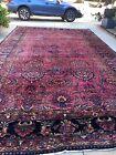 Antique Lilihan palace size carpet in excellent original condition