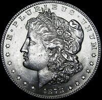 1878 7 TF Morgan Dollar Silver ---- GEM BU ---- #F563