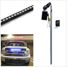 22 inche 7 Color Knight Rider Light LED Flash strobe light Strips Scanner+Remote