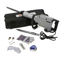 Demolition Jack Hammer Breaker Tool Kit Heavy Duty Electric Concrete Durable