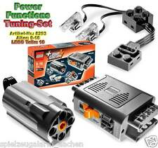 LEGO Technic 8293 Power Functions Tuning-Set Motor Licht Batteriekasten