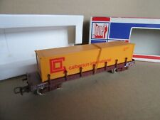 413I Jouef 6615 Wagon Plat Ranchers SNCF Container Calberson Ho