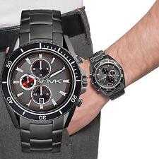 Original Michael Kors Uhr MK8340 LANSING Herrenuhr Chrono Farbe:Gunmetal NEU