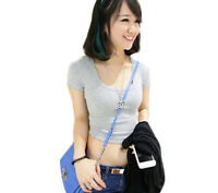 Sexy Ladies Stretch Casual Crop Top Plain Short Sleeve Cropped T-Shirt Vest Tank