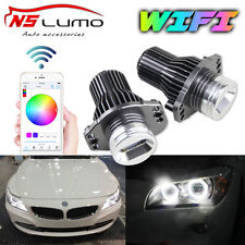 Lux LED Angel Eyes Light Ring RGB Wifi Controll  For BMW 05-08 E90 E91 3 Series