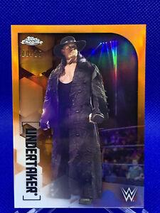 The Undertaker 2020 Topps Chrome WWE Orange /25 Refractor 10/25 🔥 RARE! INVEST!