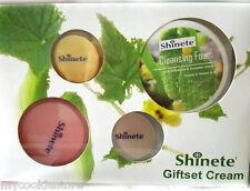 Shinete Baby Face Cream Set Reduce Dark Spot Melasma Whitening Lightening Foam