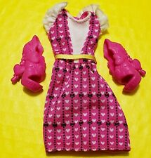 Monster High Draculuara Accessories Lot Clothes Shoes