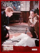 BRITISH HORROR - Card #86 - Circus of Fear - MURDER!