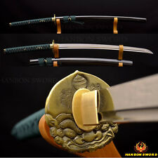 Handmade Japanese Samurai Sword Ko- Katana 1095 Steel Sharp Blade Battle Ready