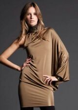 Michele Windheuser Abito/Vestito/Dress Donna/Women Cerimonia Sera Bronzo Tg.S