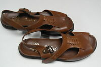 Ega Comfort Sandaletten TRUE VINTAGE Damen Sandalen Badeschuh Schuhe Leder braun