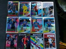 Donruss Soccer 2019 Optic And Insert 12 Card Lot Napoli Croatia Spain Etc