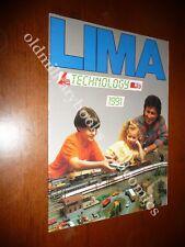 LIMA TECHNOLOGY HO CATALOGO 1991 IN ITALIANO PERFETTE CONDIZIONI