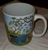 Disney Winnie the Pooh Stuck in Rabbit's House Coffee Mug Cup Hunny On Handle