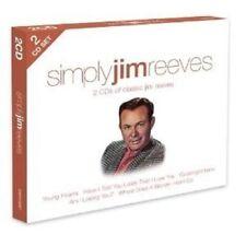 JIM REEVES - SIMPLY JIM REEVES  2 CD NEW!