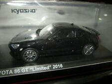 1:43 Kyosho Toyota 86 GT Limited 2016 Crystal Black/Schwarz Silica Nr. 03895CBK
