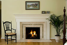 Fireplace Stone Floral Garden Arts & Crafts Gothic Ellison Tile
