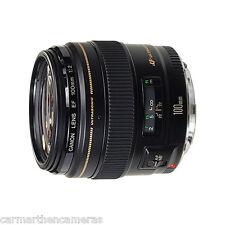 Canon EF 100mm f/2.0 Lente AF USM Teleobjetivo