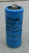 Phillips 10000 uF 25V Capacitor, 222 114 16103 HP, Off Charmilles EDM, Used