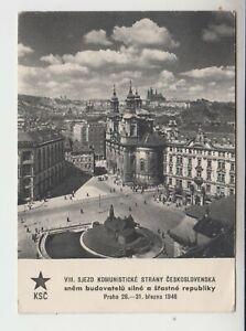 1946 KSC Praha VIII. Sjezd Komunistické Strany Ceskoslovenska