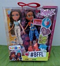 Bratz #BFFL pack Toys R Us Exclusive Yasmin & Sasha Dolls with neckalce for you!