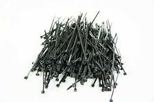 1000pcs 4' Zip Cable Ties Industrial Pack Nylon Wire Tie Wraps Uv Black 18lbs