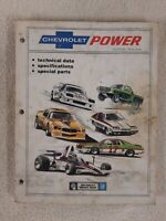 CHEVY power CHEVROLET VINTAGE service Manual Classic Cars MECHANICAL