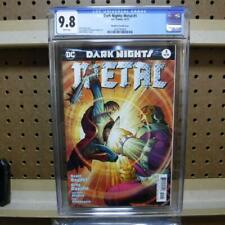 Dark Nights Metal 1 10/17 CGC 9.8 Romita Jr. Variant Batman Who Laughs